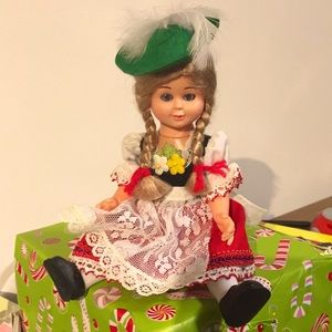 """Vintage Collectible doll 8"""" cultural"""